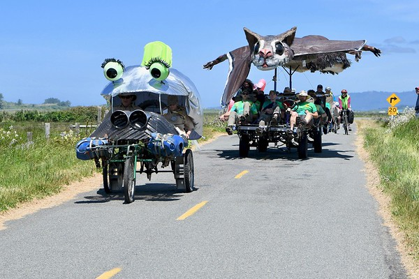 PHOTOS: Kinetic Race- Arcata Bottoms & Dead Man's Drop