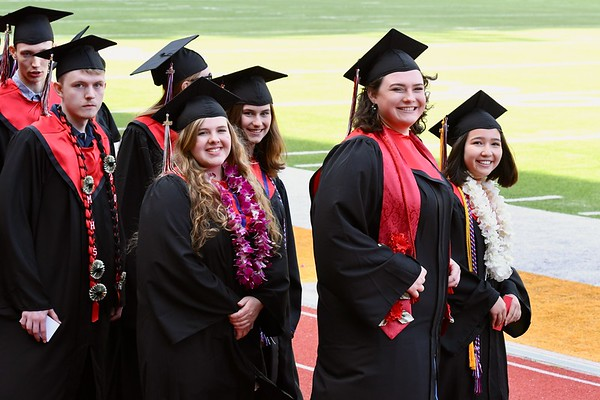 PHOTOS: McKinleyville High School 2018 Graduation