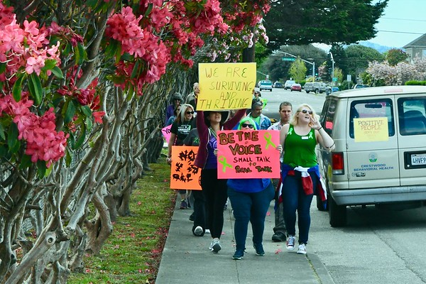 PHOTOS: Mental Health Matters March