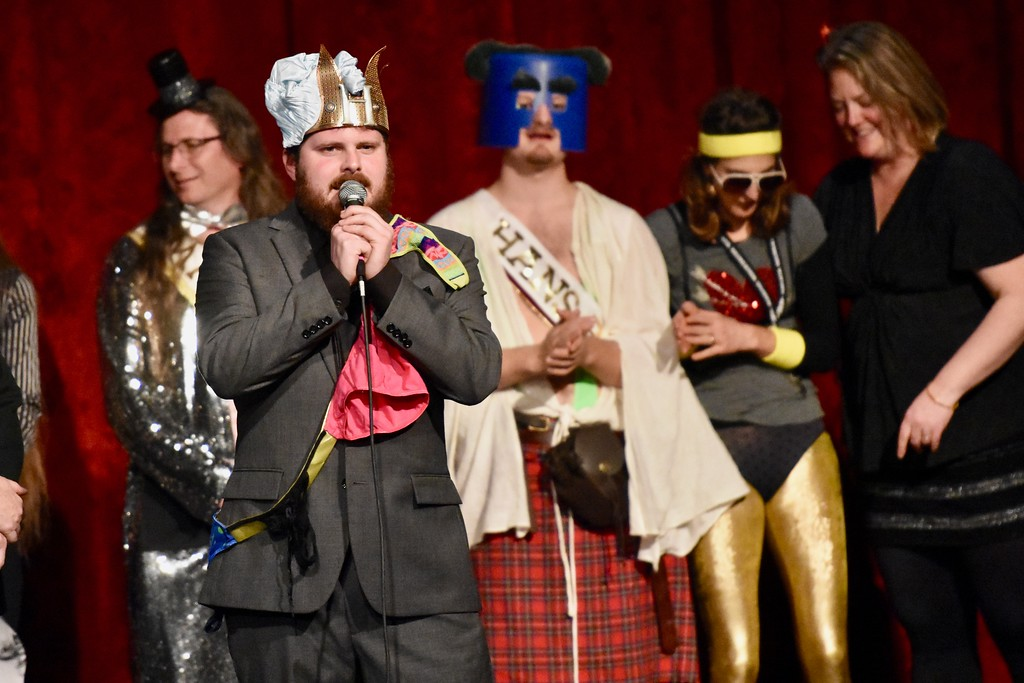 . Mr. Breakfast Daddy, just crowned Mr. Humboldt 2018, donates prize winnings to True North Organizing Network. José Quezada�For Times-Standard