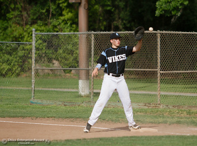 during a baseball game between Paradise and Pleasant Valley April 19, 2016 at Hooker Oak Park in Chico, Calif. (Emily Bertolino -- Enterprise-Record)
