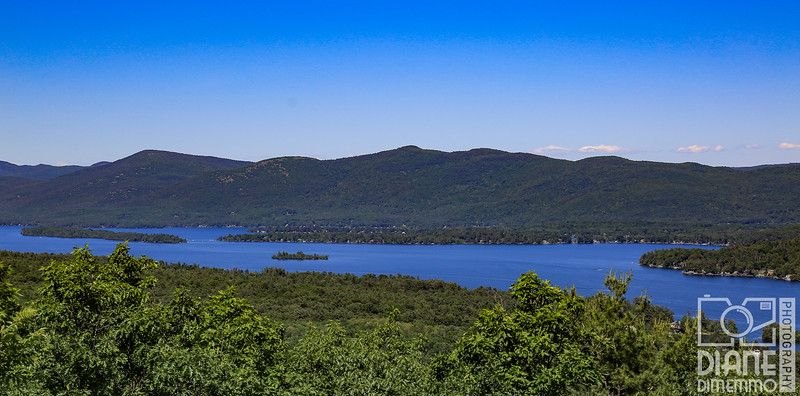 LAKE GEORGE from PROSPECT MOUNTAIN