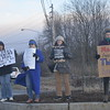 Protest outside Saratoga County Republican committee's cocktail party