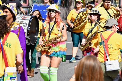 Color, bright sun and blue skies frame the 2017 Redwood Pride parade in Arcata. (Jose Quezada — For the Times-Standard)
