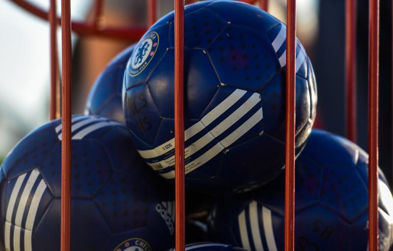Loveland-area girls soccer balls. (Cris Tiller / Loveland Reporter-Herald)