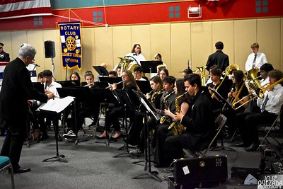 The Eureka High School Limited Edition musical orchestra.