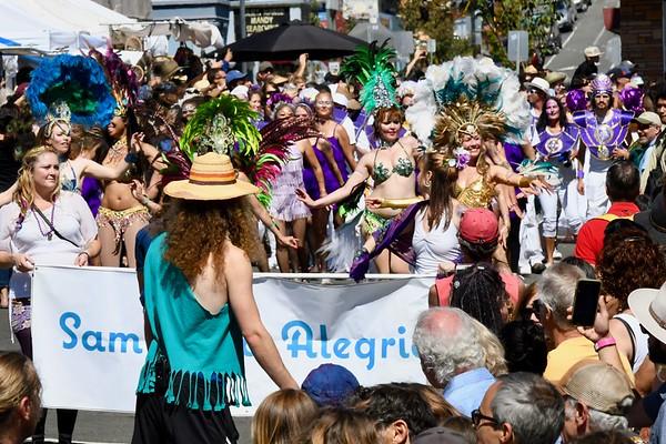PHOTOS: Samba Parade • North Country Fair