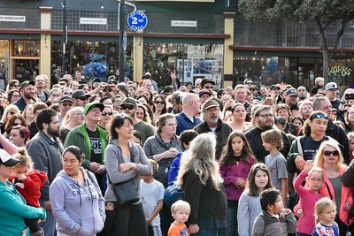 Closeup of crowd waiting for first boom. 3. José Quezada—For Times-Standard