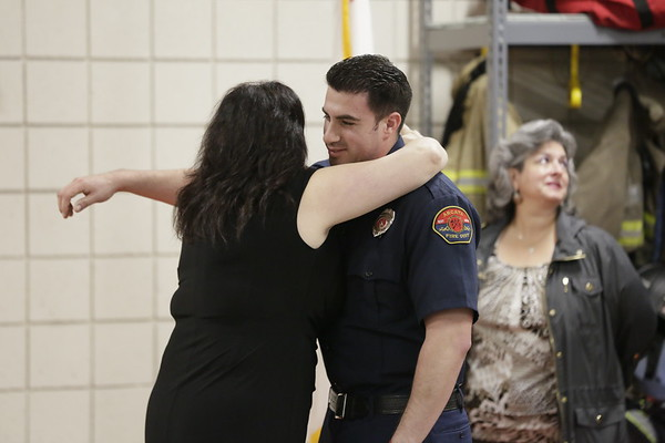 PHOTOS: Swear-ins and Promotions at Arcata Fire