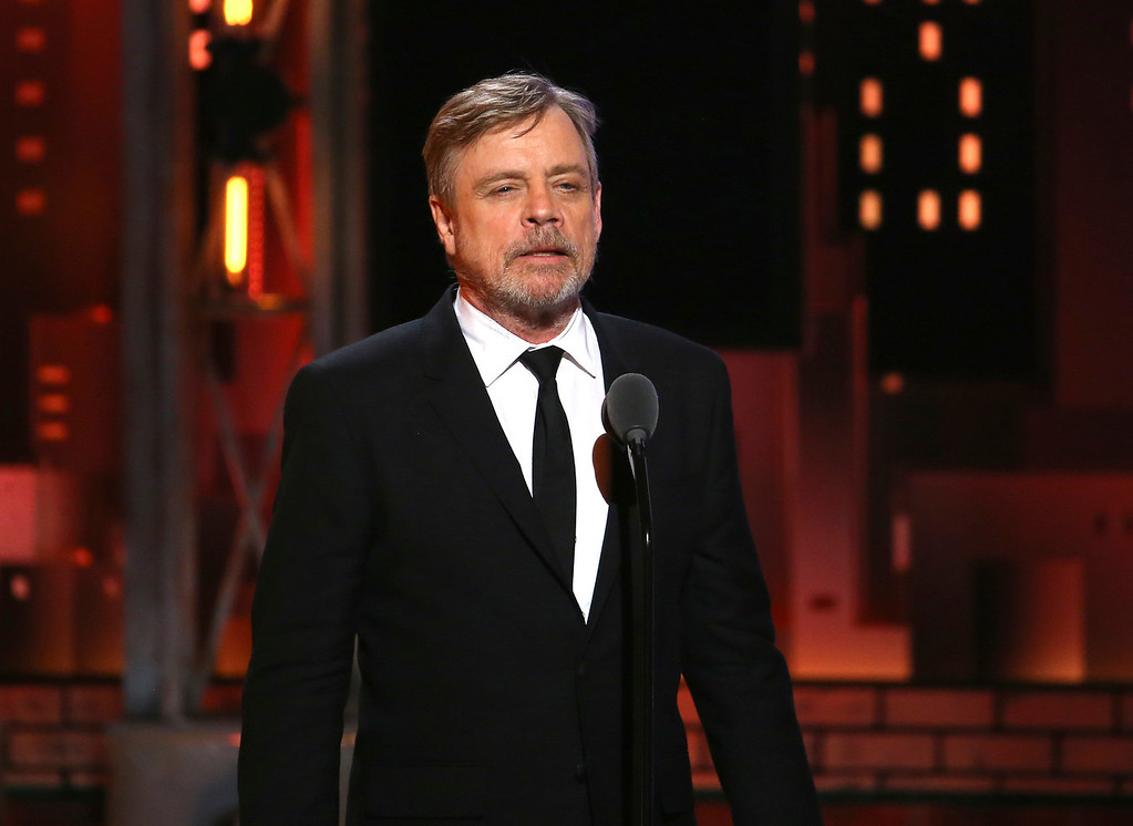 . Mark Hamill speaks onstage at the 71st annual Tony Awards on Sunday, June 11, 2017, in New York. (Photo by Michael Zorn/Invision/AP)