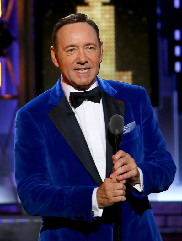 . Kevin Spacey performs at the 71st annual Tony Awards on Sunday, June 11, 2017, in New York. (Photo by Michael Zorn/Invision/AP)