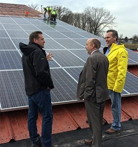 PHOTOS: Troy solar project