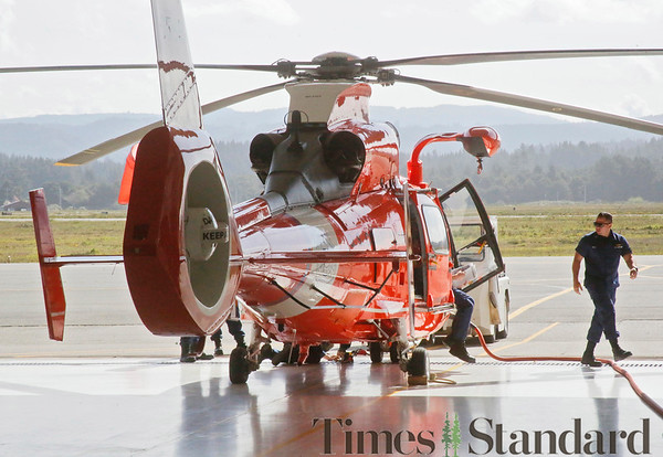 PHOTOS: U.S. Coast Guard Air Station Humboldt Bay training and helicopters