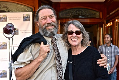 Steve and Ann Warner of the Humboldt-Del Norte Film Commission. José Quezada—For Times-Standard
