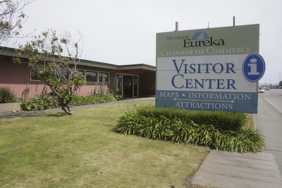 Shaun Walker — The Times-Standard  The Greater Eureka Chamber of Commerce Visitor Center, located on Broadway at West Hawthorne Street, will be closing at the end of the month.