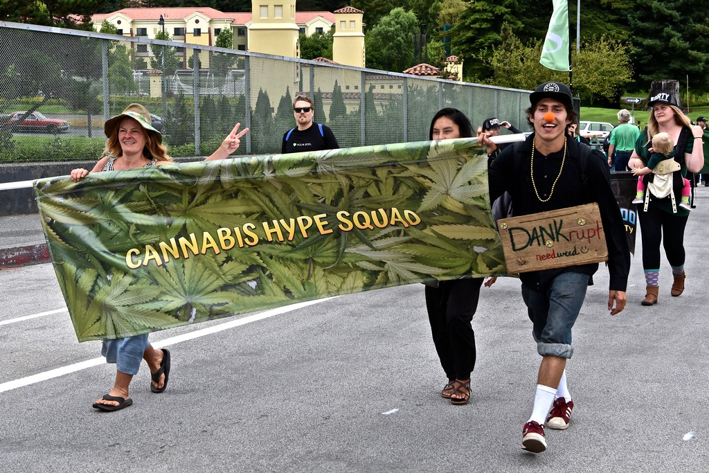 . Dank is an expression for cannabis.  José Quezada�For the Times-Standard