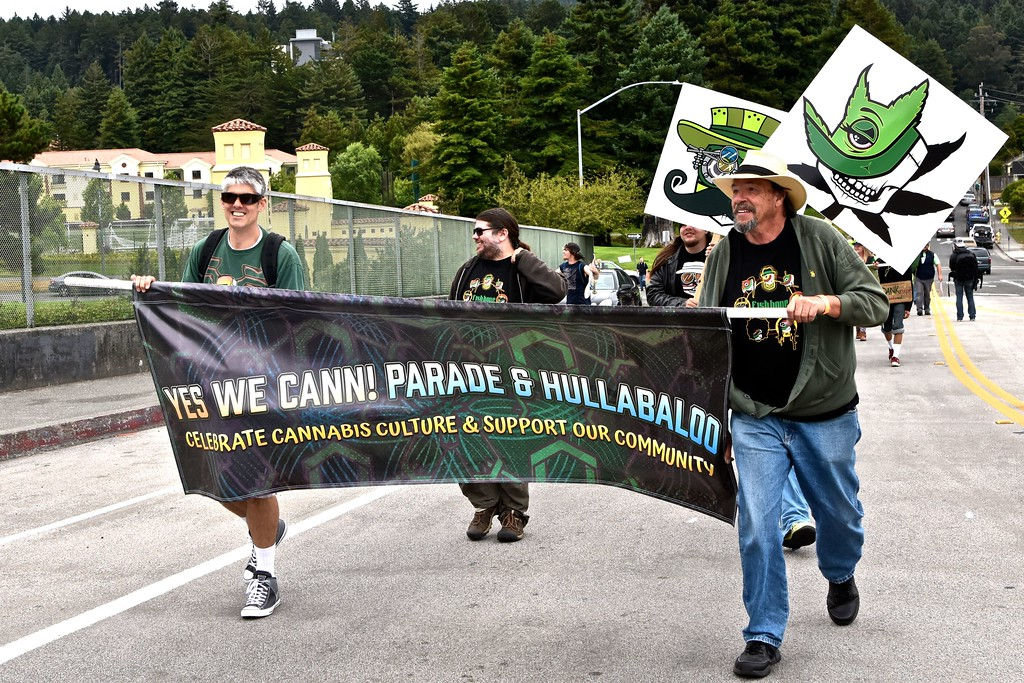 . The parade marks a significant exposure to the community of the local cannabis industry.  José Quezada�For the Times-Standard