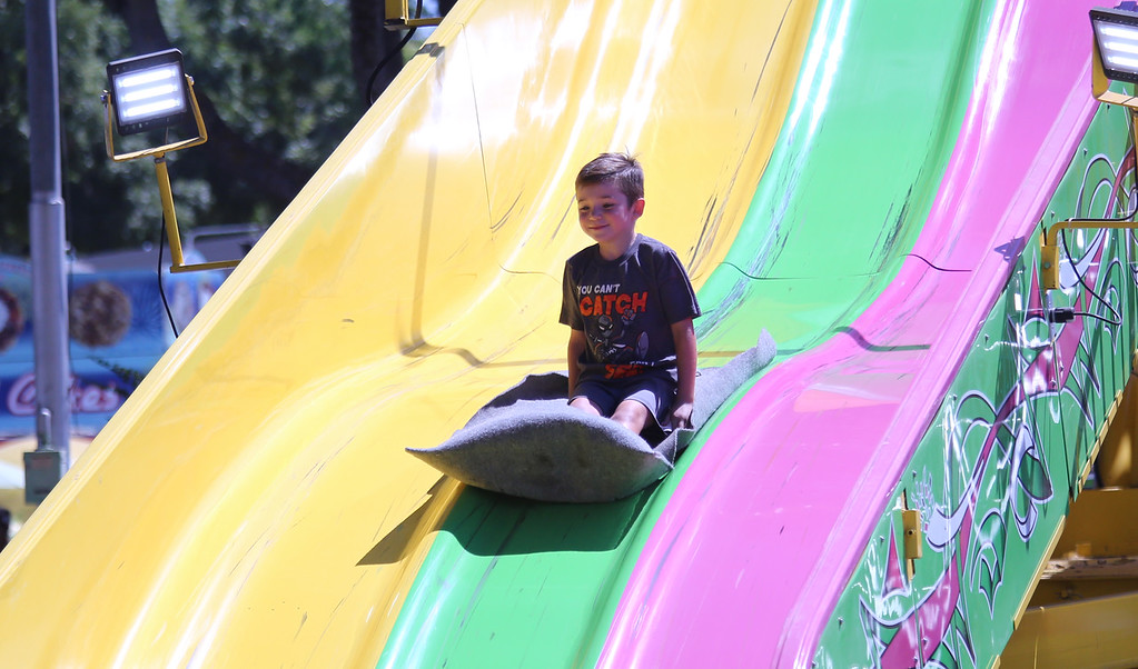 . CUTTER HICKS - DAILY DEMOCRAT The Yolo County Fair welcomed thousands this past week, who gathered to enjoy rides, carnival games, music, food, art and more during the five-day event. This year�s theme was �Pigs, Pies and Paintings.""