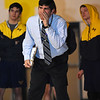 STAN HUDY - SHUDY@DIGITALFIRSTMEDIA.COM<br /> Averill Park Coach Mike Malenfant yells directions to one of his Warrior wrestlers during the teams Suburban Council match Wednesday, Jan. 18, 2017 at Averill Park versus Ballston Spa.