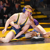 STAN HUDY - SHUDY@DIGITALFIRSTMEDIA.COM<br /> Averill Park's Jake Miller tries to sit out against Ballston Spa's Andrew Reynolds during their 145-pound Suburban Council match Wednesday, Jan. 18, 2017 at Averill Park High School.