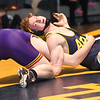 STAN HUDY - SHUDY@DIGITALFIRSTMEDIA.COM<br /> Averill Park's Charlie Wilson looks to sit out form under Balslton Spa's Aaron Lahaus during their Suburban Council 195-pound match, Wednesday, Jan. 18, 2017.