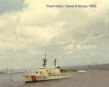 "Taken from the bridge of the USS Implicit as we entered Pearl Harbor, stopping briefly before continuing on our ""WestPac"" cruise."
