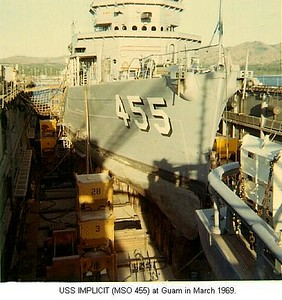 Two Weeks in Dry Dock in Boring Guam
