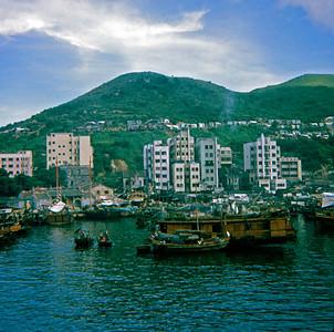 "Aberdeen is a ""fishing village"" on the otherside of Hong Kong Island. (Hong Kong, July 1969)"