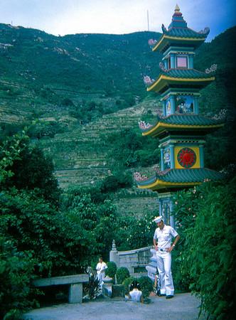 Glen Bernard at Tiger Balm Gardens (Hong Kong, July 1969)