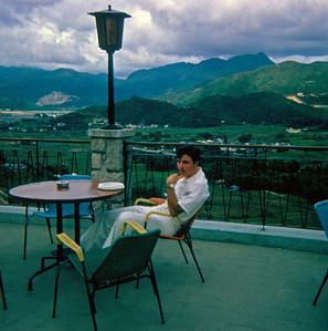 New Territories Tour Lunch Break. (Glen Bernard, July 1969)