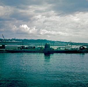 Submarine at Subic Bay