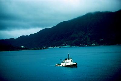 Pago Pago Harbor, American Samoa, 1971