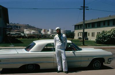 SM3 Glen Bernard at Long Beach, California (August 1971).