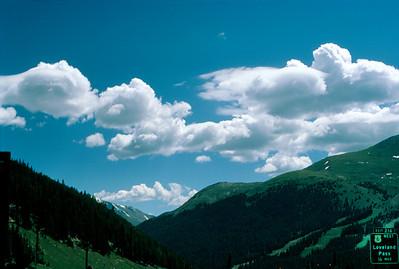 Loveland Pass, east of Denver, Colorado (July 1987)