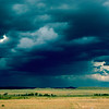 Storm Brewing Near Lusk, Wyoming (July 1987)