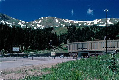 Eisenhower Tunnel on Loveland Pass sixty miles west of Denver on I-70.