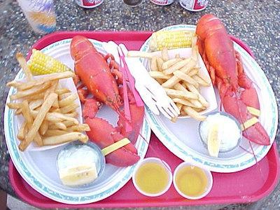 DINNER Plymouth, Massachusetts (Aug 28, 2000).