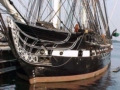 USS CONSTITUTION Also known as Old Ironsides. (Boston, MA Aug 27, 2000)