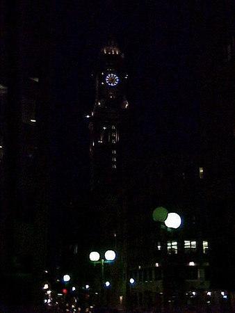 CLOCK TOWER Boston, MA (Aug 27, 2000)