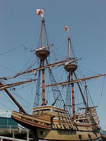 MAYFLOWER II Plymouth, Massachusetts (Aug 28, 2000).