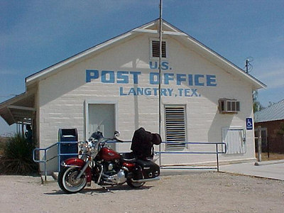 LANGTRY, TEXAS (Sept 22, 2000)