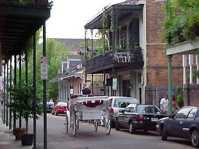 SAME BUGGY, DIFFERENT PLACE (New Orleans, Sept 14, 2000)