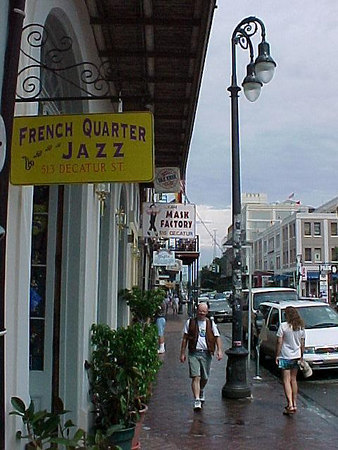 ON DECATUR STREET (New Orleans, Sept 13, 2000)