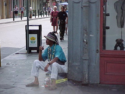DOWN ON THE CORNER (New Orleans, Sept 13, 2000)