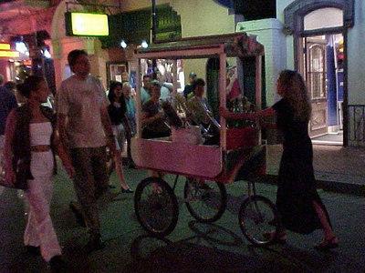 BOURBON STREET (New Orleans, Sept 14, 2000)