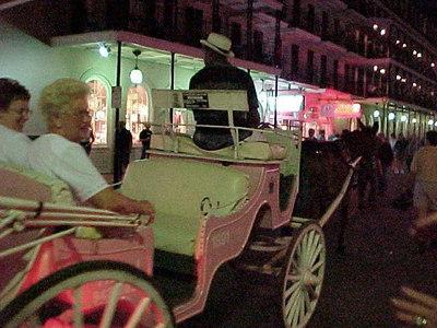 TOURING BOURBON STREET (New Orleans, Sept 14, 2000)