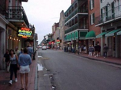 SHERRY ON BOURBON STREET (New Orleans, Sept 13, 2000)