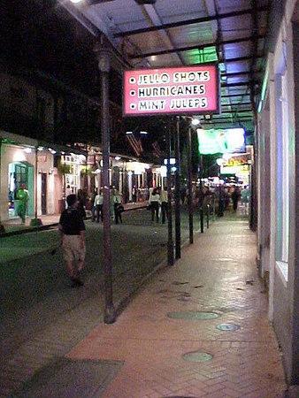 BOURBON STREET (New Orleans, Sept 13, 2000)