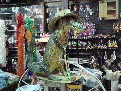 INSIDE BOUDREAUX'S STORE (New Orleans, Sept 13, 2000)