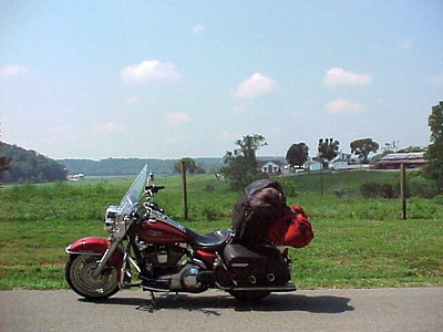 LEAVING HURRICANE MILLS, TENNESSEE (August 2001)